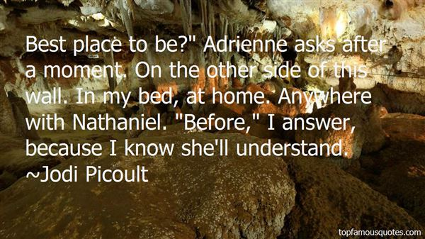 Quotes About Adrienne
