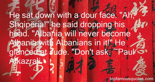 Quotes About Albanian