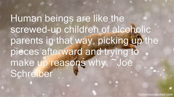 Quotes About Alcoholic Parents