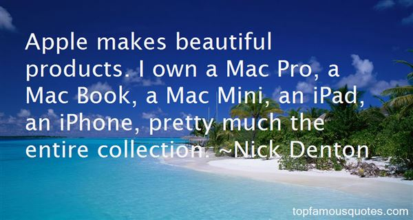 Quotes About Apple Products