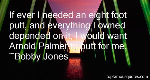 Quotes About Arnold Palmer