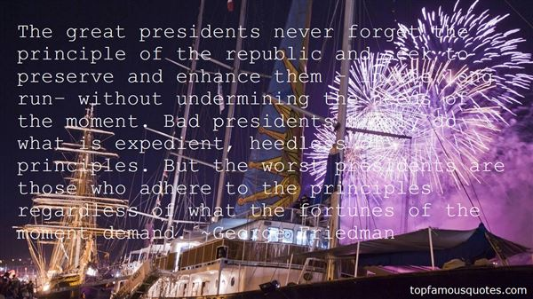 Quotes About Bad Presidents