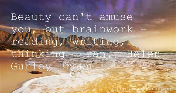 Quotes About Brainwork