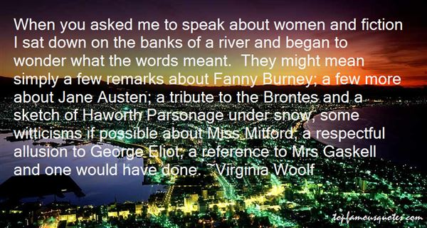 Quotes About Brontes