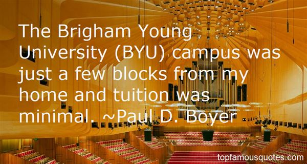 Quotes About Byu