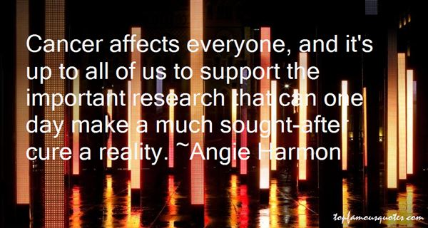Quotes About Cancer Support