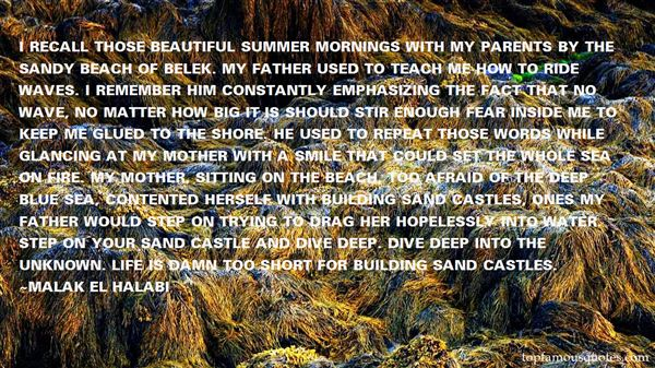 Quotes About Castles In The Sand