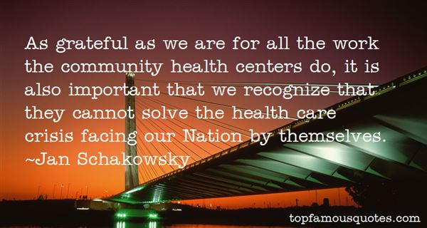 Quotes About Community Health Centers