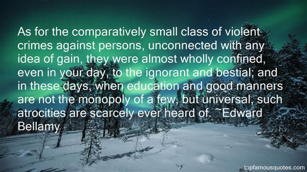 Quotes About Comparative Education