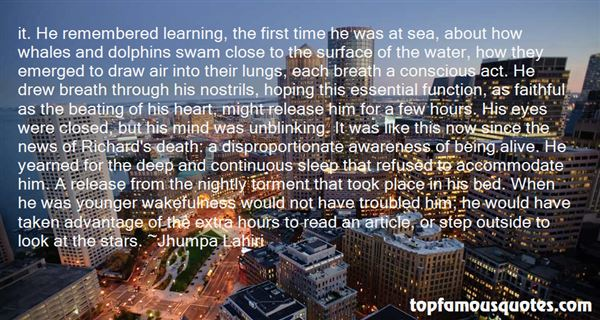 Quotes About Conscious Awareness