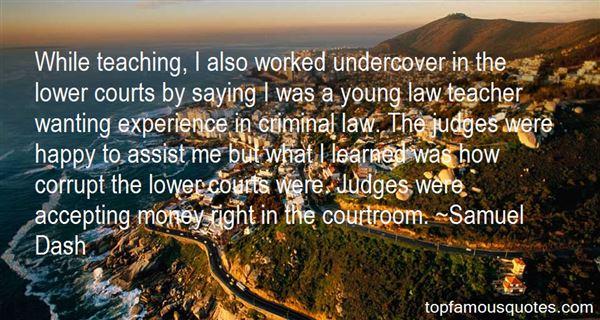 Quotes About Corrupt Judges