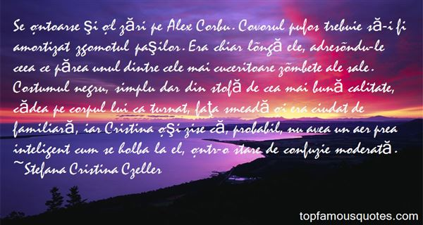 Quotes About Cristina