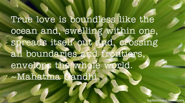 Quotes About Crossing Boundaries