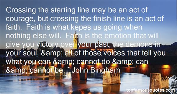 Quotes About Crossing The Finish Line