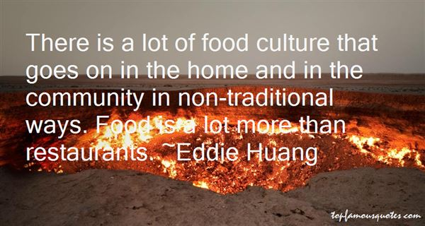 Quotes About Culture And Food