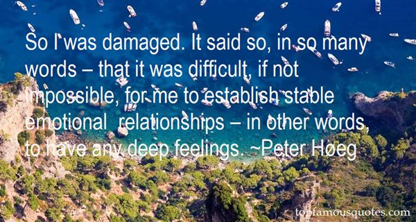 Quotes About Damaged Relationships