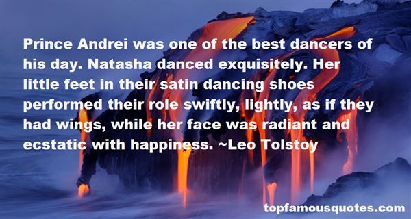 Quotes About Dancers Feet