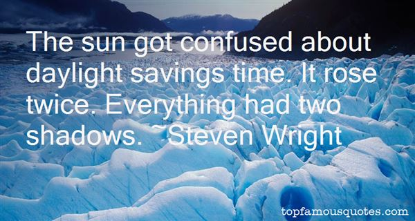 Quotes About Daylight Savings Time