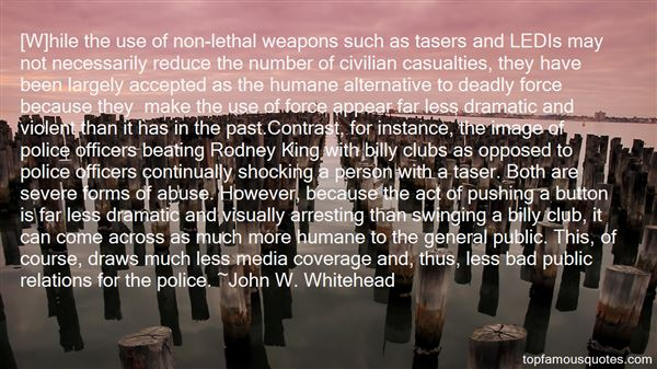 Quotes About Deadly Force