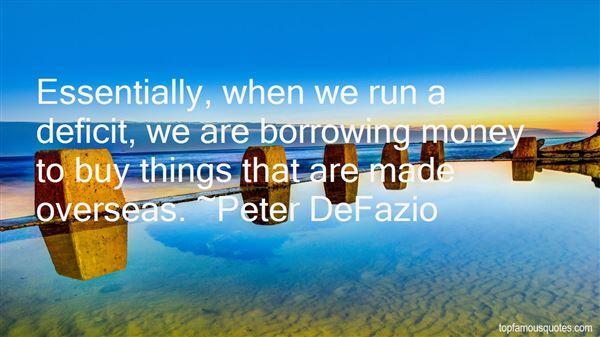 Quotes About deficit
