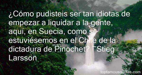 Quotes About Dictadura