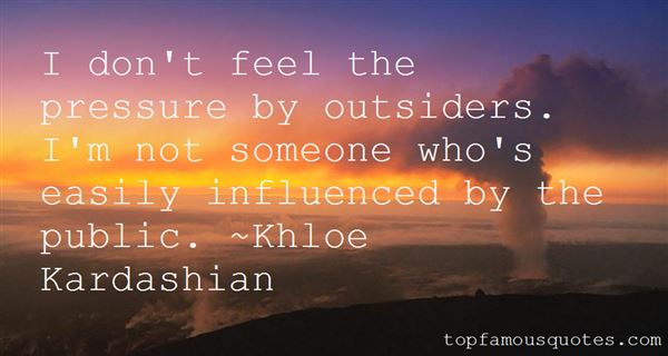 Quotes About Easily Influenced