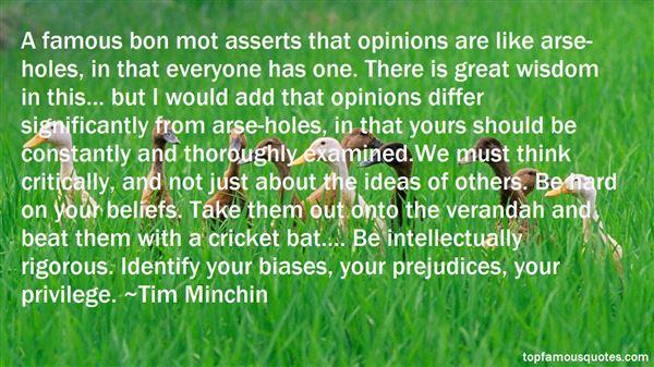 Quotes About Famous Beliefs