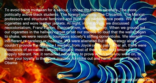 Quotes About Fanon