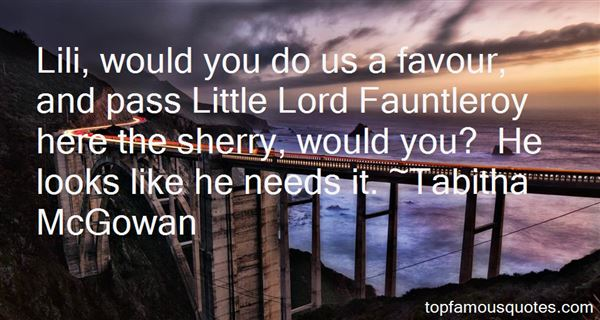 Quotes About Fauntleroy