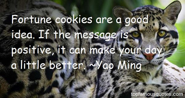 Quotes About Fortune Cookies