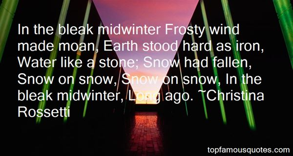 Quotes About Frosty