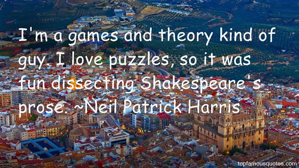 Quotes About Game Theory