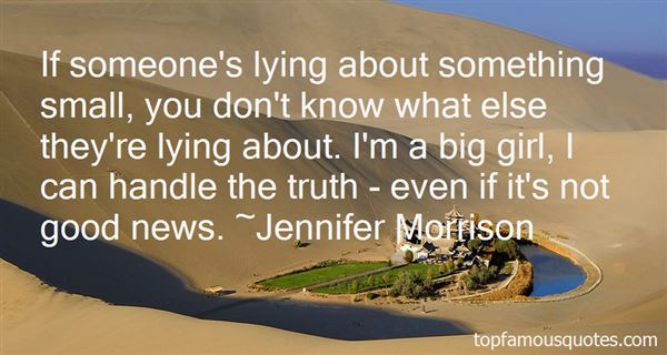 Quotes About Handle The Truth