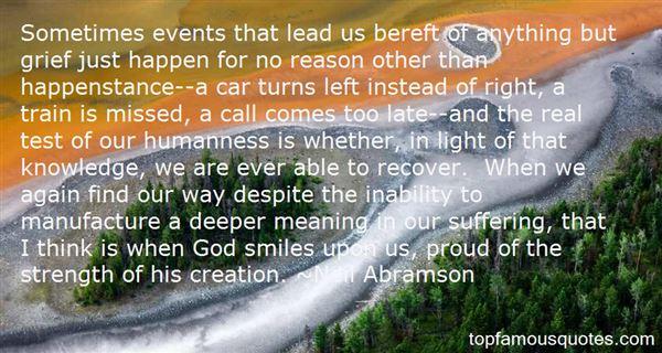Quotes About Happenstance