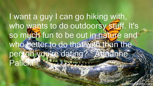 Quotes About Hiking Outdoors