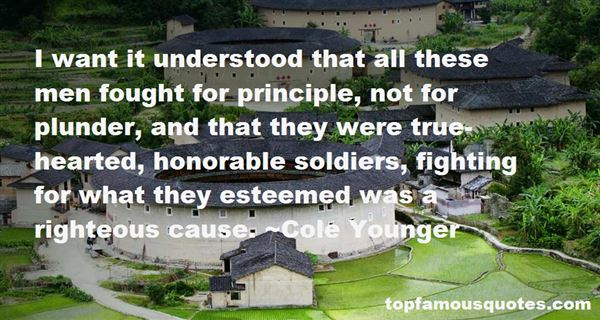 Quotes About Honorable Soldiers