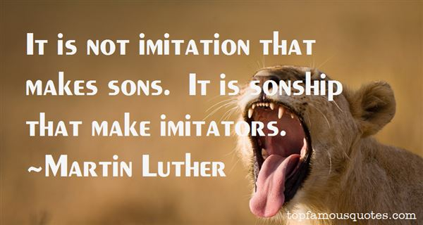 Quotes About Imitator