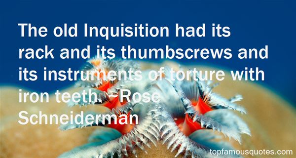 Quotes About Inquisition