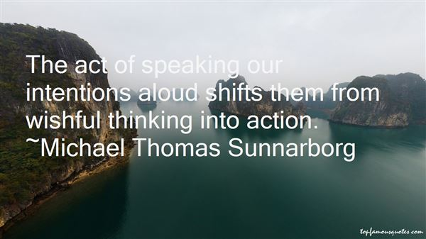 Quotes About Intentions