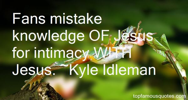 Quotes About Intimacy With Jesus