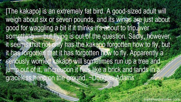 Quotes About Kakapo