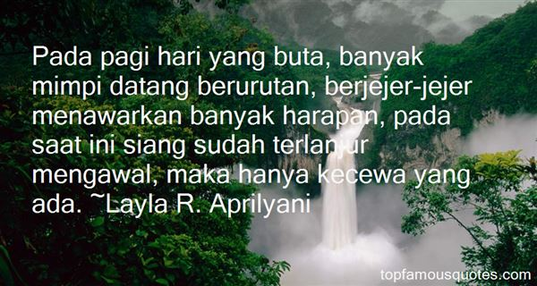 Quotes About Kecewa