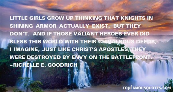 Quotes About Knights In Shining Armor