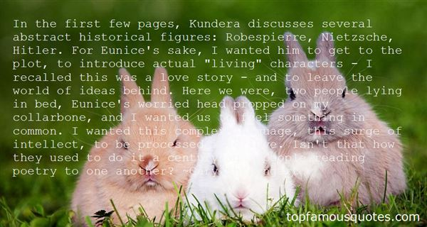 Quotes About Kundera Love