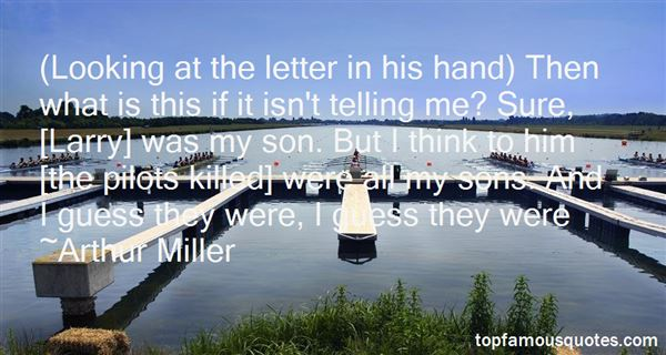 Quotes About Larry In All My Sons