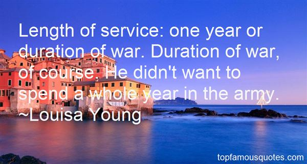 Quotes About Length Of Service
