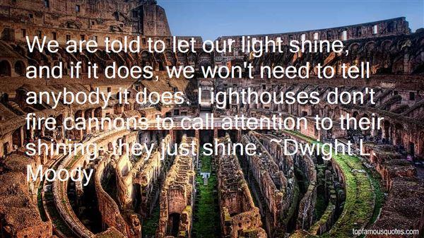 Quotes About Light Shining