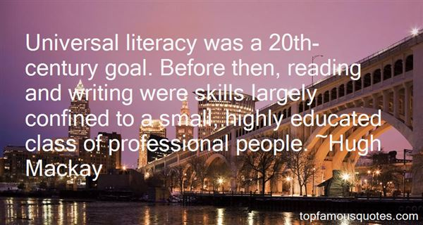 Quotes About Literacy And Writing