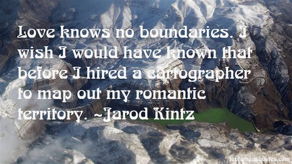 Quotes About Love Knows No Boundaries