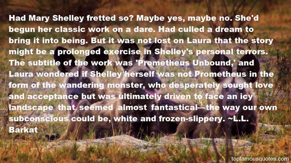 Quotes About Mary Shelley